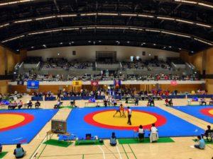駒沢オリンピック公園屋内球技場観客席